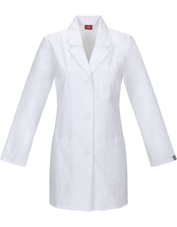 "Women's EDS Signature 32"" Lab Coat - DICKIES WHITE-LICENSEE (DWH)"