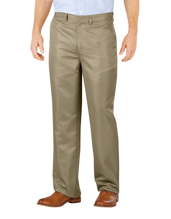 Relaxed Fit Micro Denier Executive Pant - DESERT SAND (DS)