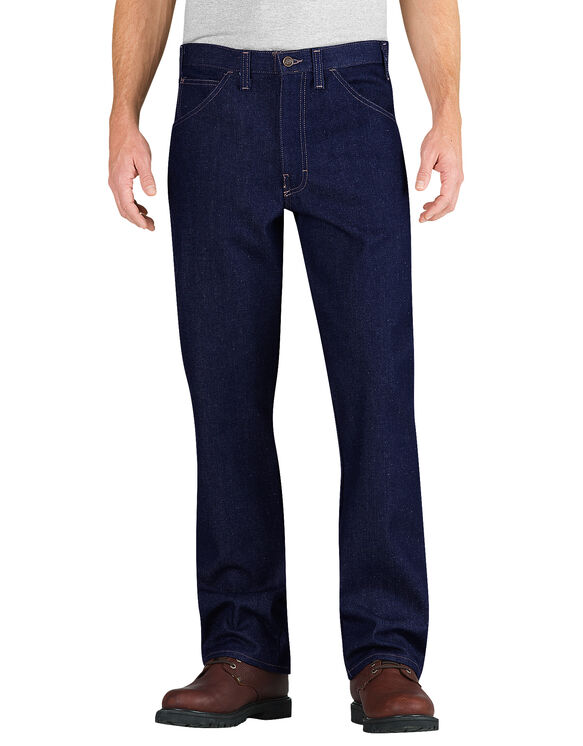 Flame-Resistant Relaxed Fit Straight Leg 5-Pocket Jean - INDIGO BLUE (NB)
