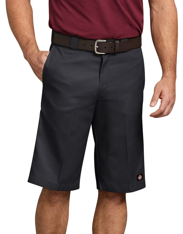 "13"" Relaxed Fit Multi-Pocket Work Short - BLACK (BK)"