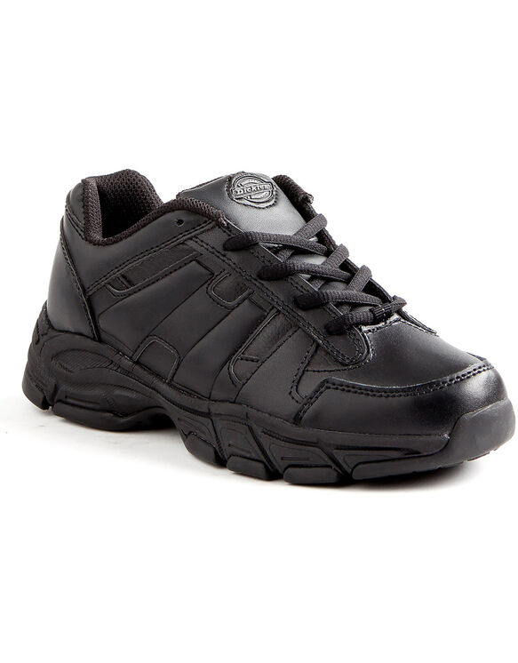 Women's Slip Resisting Athletic Lace Work Shoes - Black (FBK) - Licensee (FBK)