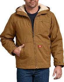 Duck Sherpa Lined Hooded Jacket