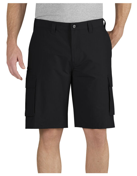 "Performance 11"" Relaxed Fit Cargo Pocket Short - BLACK (BK)"
