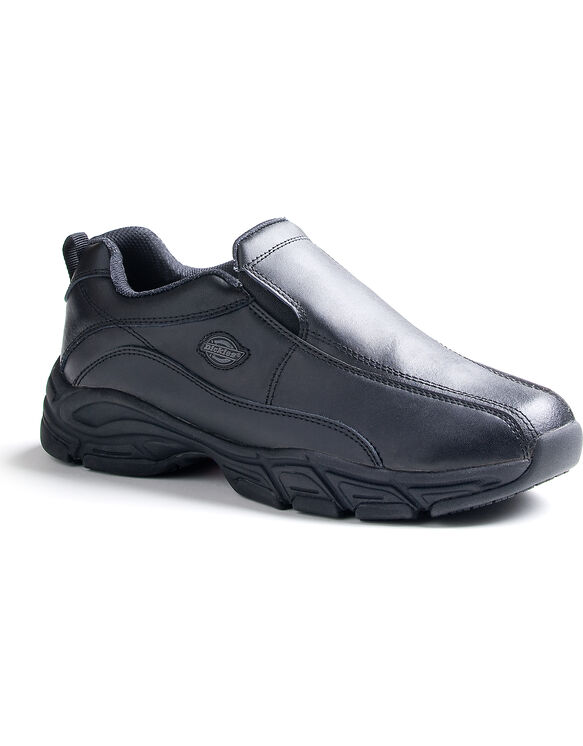 Men's Slip Resisting Athletic Slip-On Work Shoes - Black (FBK) - Licensee (FBK)