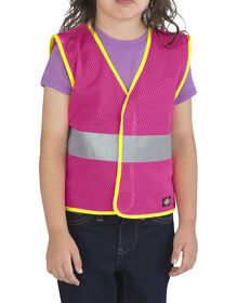 Toddler/Preschool E-Vis Safety Vest - NEON PINK (NK)