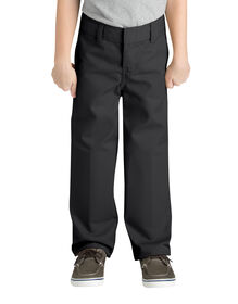 Boys' Classic Fit Straight Leg Flat Front Pant, 4-7