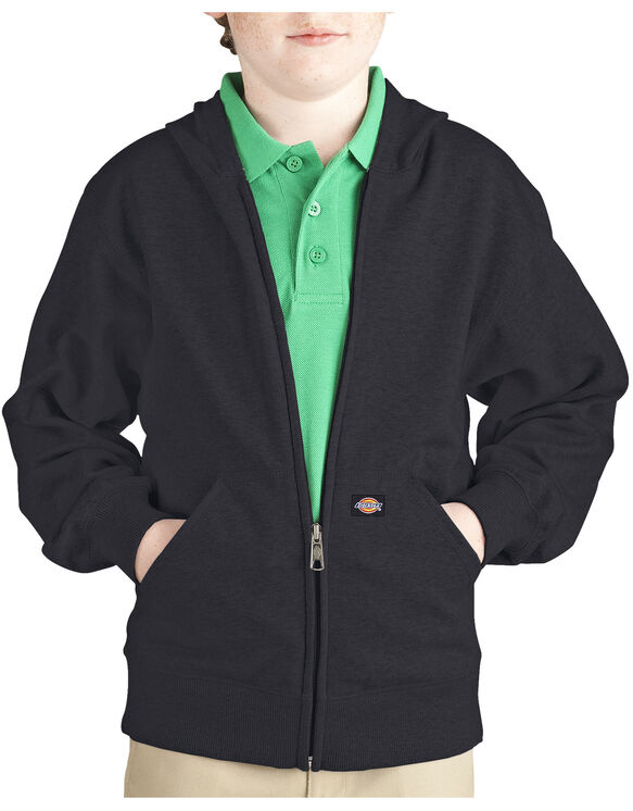 Kids' Full Zip Fleece Hoodie