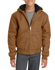 Kids' Sanded Duck Hooded Jacket, 8-20