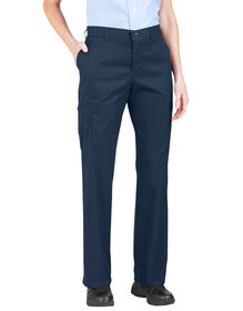 Women's Premium Relaxed Straight Cargo Pant (Plus) - DARK NAVY (DN)