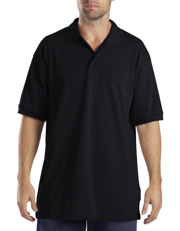 Adult Sized Short Sleeve Pique Polo Shirt