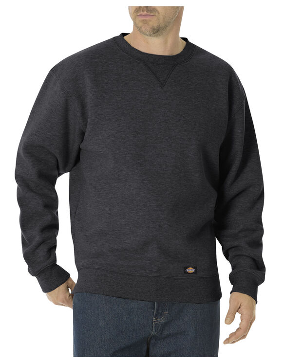 Heavyweight Fleece Crew Neck - BLACK (BK)