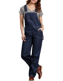Women's Relaxed Fit Straight Leg Bib Overall