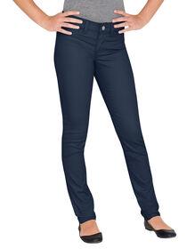 Juniors Schoolwear Super Skinny Fit Skinny Leg Pant, 0-15 - RINSED DARK NAVY (RDN)