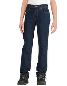 Boys' Flex Slim Fit Skinny Leg 5-Pocket Denim Jean, 4-7 - MED STONEWASH W/ TINT (MNT)