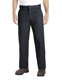 Relaxed Straight Fit Work Pant - BLACK (BK)