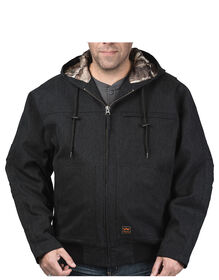 Walls® Workwear Muscle Back™ Hooded Jacket with Kevlar® - MIDNIGHT BLACK (MK9)