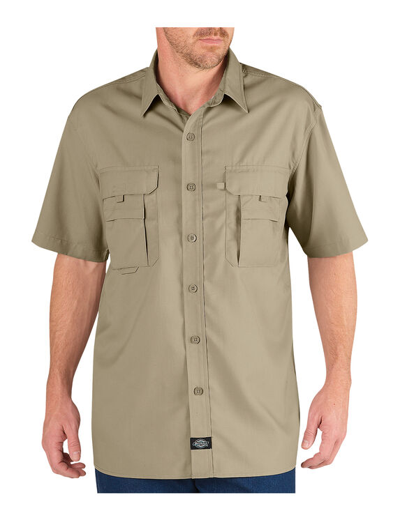 Performance Short Sleeve Deluxe Work Shirt - DESERT SAND (DS)