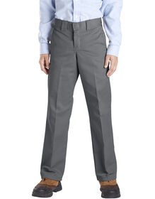 Boys' Slim Fit Straight Leg Pant, 8-20 - CHARCOAL (CH)