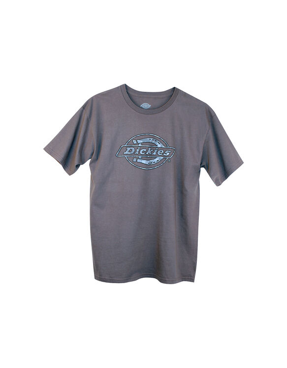 Dickies Camo Logo T-Shirt - CHARCOAL (CH)