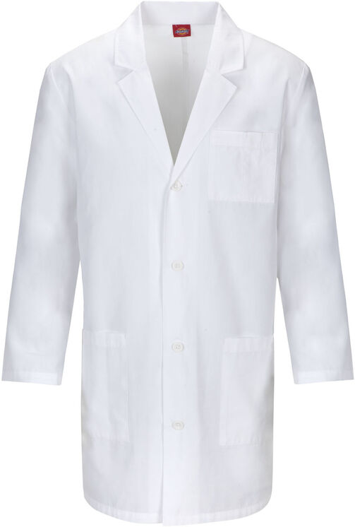 "Unisex EDS Signature 37"" Lab Coat - DICKIES WHITE (DWH)"
