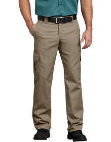 Flex Regular Fit Straight Leg Cargo Pant - DESERT SAND (DS)