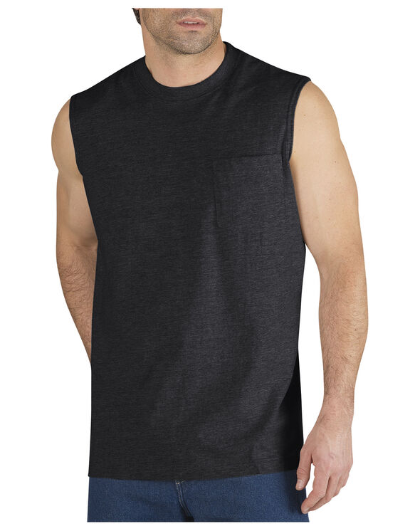 Sleeveless Pocket Tee