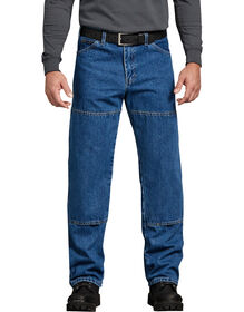 Relaxed Fit Workhorse Denim Jean - Stonewashed