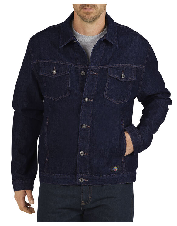 Denim Jacket - RINSED INDIGO BLUE (RNB)