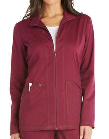Women's Essence Warm-up Jacket - WINE-LICENSEE (WIN)