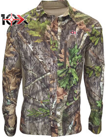 10X® Ultra-Lite Long Sleeve Mesh Back Shirt - NEW OBSESSION (NO9)