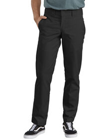 Slim Straight Fit Poplin Work Pant