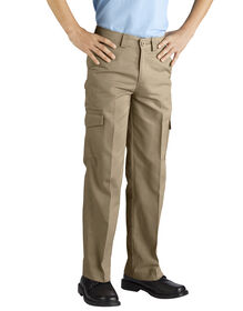 Boys' Relaxed Fit Straight Leg Cargo Pant, 8-20 - RINSED DESERT SAND (RDS)
