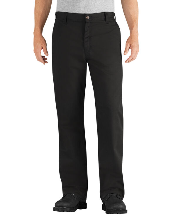 Flame-Resistant Relaxed Fit Twill Pant - BLACK (BK)
