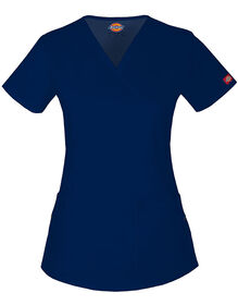 Women's Junior Fit Evolution NXT Mock Wrap Scrub Top