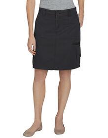 Women's Cargo Skirt - RINSED BLACK (RBK)