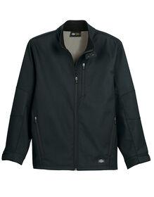 Performance Flex Bonded Canvas Softshell Jacket - BLACK (BK)