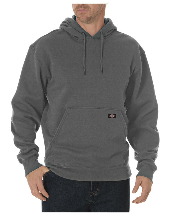 Heavyweight Fleece Pullover - DARK HEATHER GREY (DH)