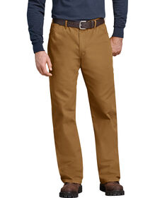 Industrial Relaxed Fit Straight Leg Carpenter Duck Jean - RINSED BROWN DUCK (RBD)