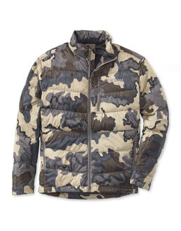 Super Down Camo Hunting Jacket